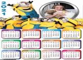 Calendário Minions 2021