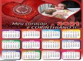 Calendário Meu Coração é Corinthiano 2021
