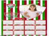 Calendário Fluminense 2019 Moldura