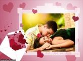 Moldura Carta cheia de Amor