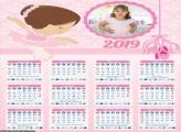 Calendário Bailarina Cute 2019