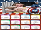 Calendário Capitão América Guerra Civil 2021