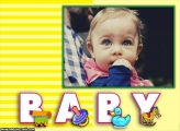 Baby Foto Moldura