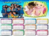Calendário das Chiquititas 2018