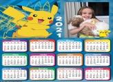 Calendário Pikachu Pokémon 2021