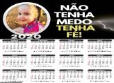 Calendário Tenha Fé 2020
