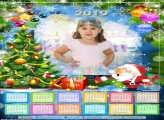 Calendário Papai Noel Feliz 2019