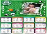 Calendário Palmeiras Mascote 2021