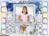 Calendário Urso Polar de Natal 2019