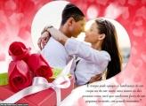 Foto Moldura Mensagem Dia dos Namorados