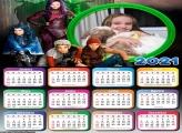 Calendário Descendentes 2021