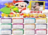 Calendário Feliz Natal do Mickey 2021