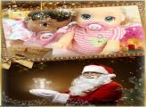 Magia do Papai Noel no Natal