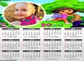 Calendário da Dora Aventureira 2020