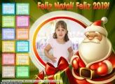 Calendário Imagem de Papai Noel 2019