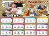 Calendário Nascimento Menino Jesus 2021