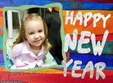 Happy New Year FotoMoldura