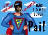 Super Pai Colagem Grátis Dia dos Pais