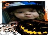 FotoMoldura Halloween Abóbora