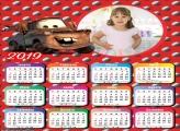 Calendário Cars Guincho 2019