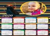 Calendário Valente 2020