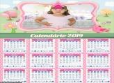 Calendário Jardim Encantado 2019