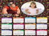 Calendário Vanellope 2019