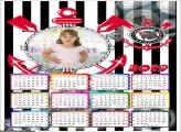 Calendário Corinthians 2019 Moldura