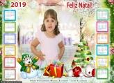 Calendário Felicidades no Natal 2019