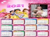Calendário Disney Princesas 2021
