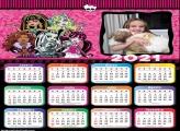 Calendário Monster High 2021