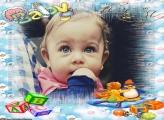 Bebê ABC Moldura