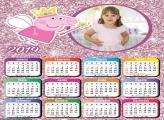 Calendário Peppa Pig Princesa 2019