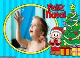 Feliz Natal Cebolinha Montagem de Foto