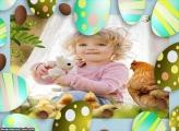 Emoldurar Ovo de Páscoa