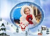 Cidade do Papai Noel Moldura