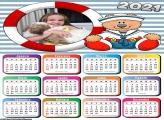 Calendário Ursinho Marinheiro 2021