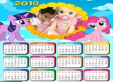 Calendário My Little Pony 2018