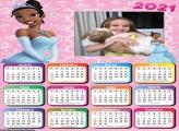 Calendário Princesa Tiana 2021