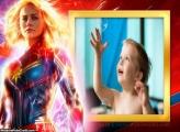 Capitã Marvel Montagem de Foto