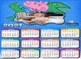 Calendário Dinossauro George 2021