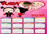 Calendário da Pucca 2018