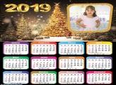 Calendário Natal Iluminado 2019