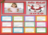 Calendário Sino Papai Noel 2019