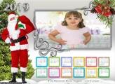 Calendário Fotos do Papai Noel 2019
