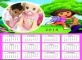 Calendário Dora Aventureira 2018