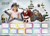 Calendário Aldeia do Papai Noel 2019