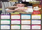 Calendário Mabel Gravity Falls 2021