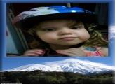 FotoMoldura Montanha de Gelo