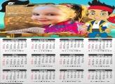 Calendário Jake e os Piratas 2020